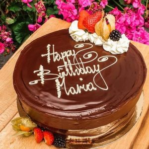 10″ Chocolate Fudge Cake