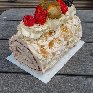 Summer Berry Roulade